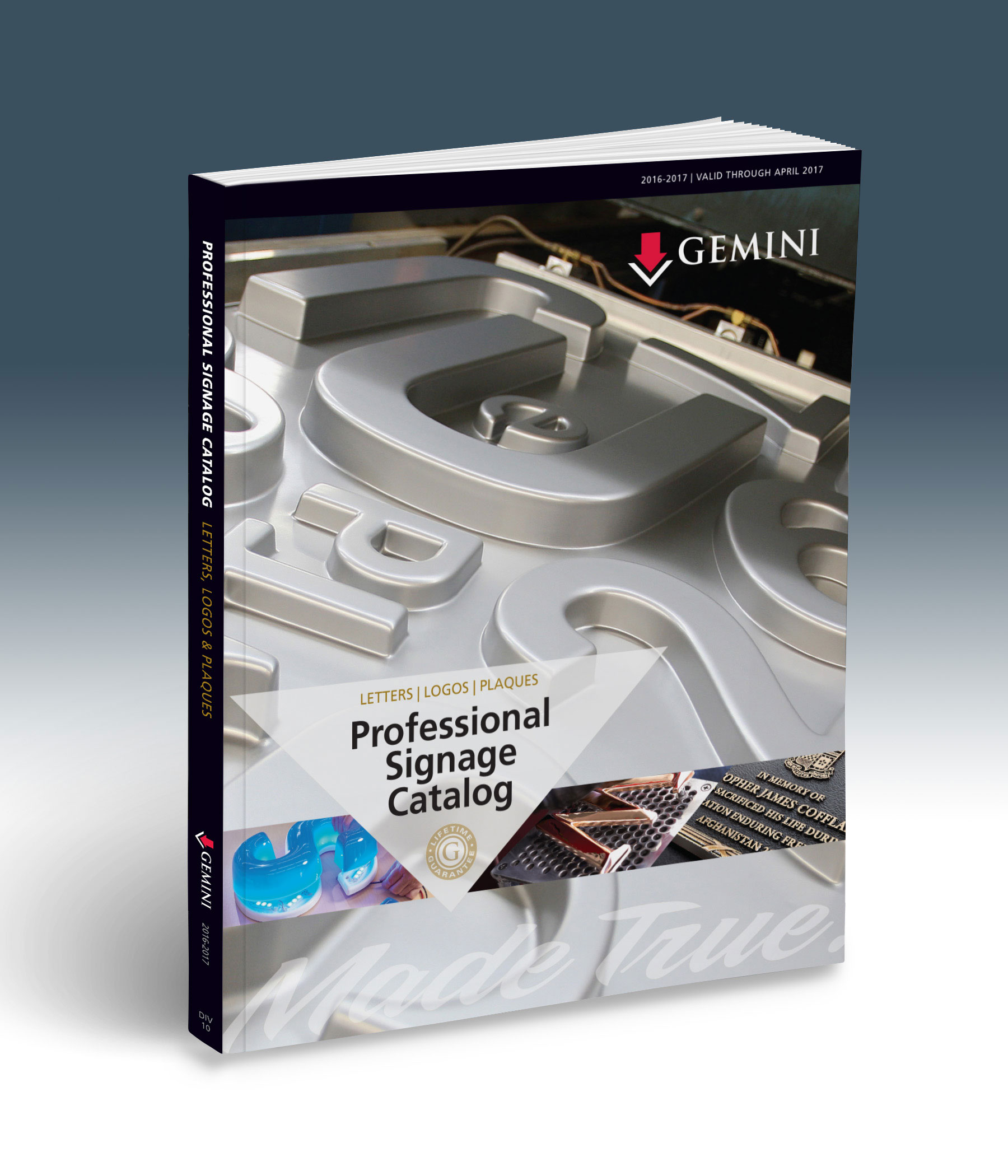 new 2016 2017 professional signage catalog now available from gemini